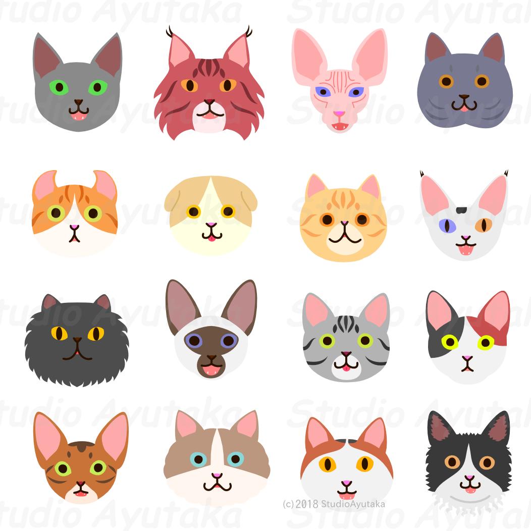 猫たち/Cats